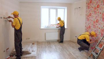 Порядок выполнения комплексного ремонта квартир